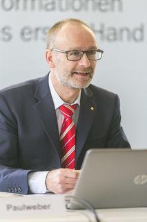 Generaldir. Christoph Paulweber von der Salzburger Sparkasse