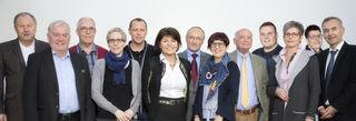 Der Vorstand des Vereins Pro Krankenhaus Rohrbach. Mittlerweile hat der Verein 170 Mitglieder.