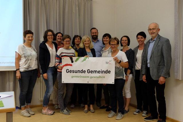 """Das diesjährige Regionaltreffen der """"Gesunden Gemeinde"""" der Großregion Oststeiermark fand im Ortsteil Nitscha der Stadtgemeinde Gleisdorf statt."""