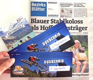 Hol dir mit dem Salzburger Hüttenpass der Bezirksblätter deine Tickets zum Downhill-Vergnügen!