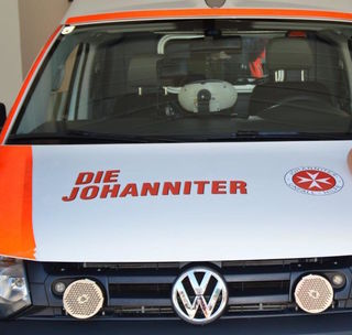 Der verletzte Radfahrer wurde von der Johanniter Unfallhilfe in die Landesklinik Tamsweg gebracht