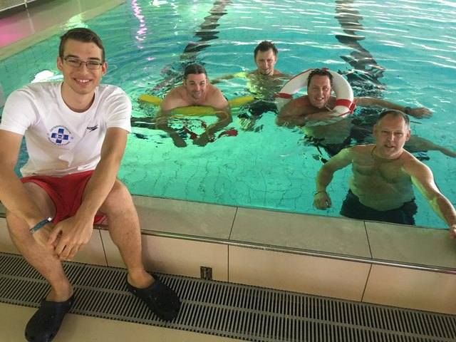 Das Team der Bademeister