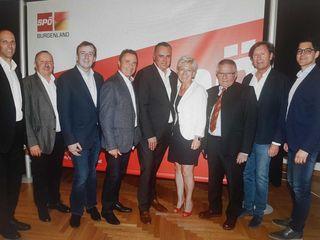 LR Hans Peter Doskozil (Mi.) wurde zum neuen SPÖ-Bezirksparteiobmann einstimmig gewählt.