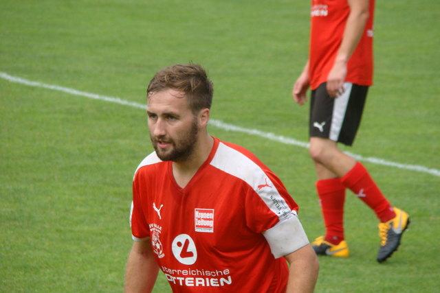 Philipp Stotz, Kapitän von Maria Gail und Schütze des 2. Tores