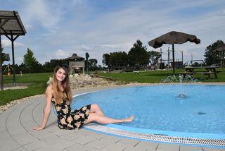 Die Wassererlebniswelt zwischen Gaas und Moschendorf bietet Angelika Tuifel viele Gelegenheiten zum sommerlichen Relaxen.