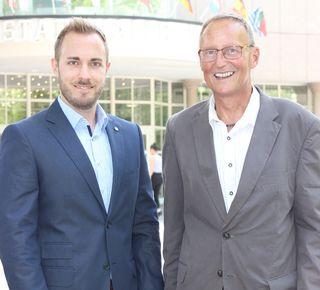 Ralph Schäfer ist neuer FP-Fraktionsobmann, Dietmar Marehard (rechts) kehrt in den Gemeinderat zurück.