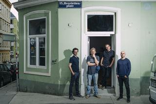 Arbeitsgemeinschaft: Stefan Schlögl, Dominik Nostiz, Tobias Pichler und Martin Schlögl gründeten die Arge Henriettenplatz.