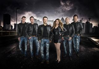 "Die Band ""Skylight"" rockt zum Jubiläum am 23. Juni im Festzelt."