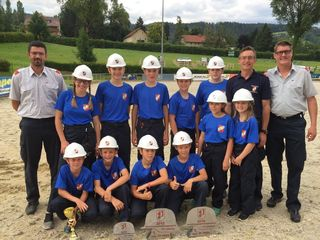 Tolle Leistung der Schamberger Feuerwehrjugend