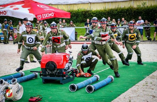 Die Mooskirchner Feuerwehr gewann sensationell den Parallelbewerb in der Klasse Bronze A.