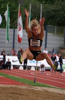 Karin Strametz stellte im Siebenkampf einen neuen steirischen Rekord auf.