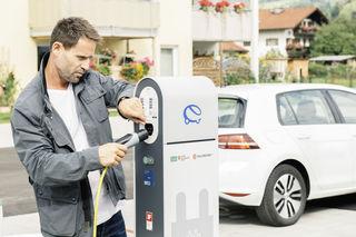 Der Ausbau des Ladenetzes sorgt für emissionsfreie Mobilität in ganz Salzburg.