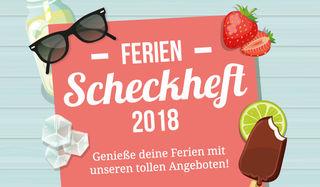 Das Bezirksblätter-Ferienscheckheft ist ab dem 2. Juli 2018 bei SPAR, EUROSPAR und INTERSPAR erhältlich.