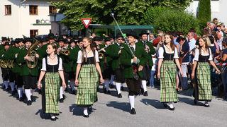 Der Musikverein Rüstorf erspielte bei der Marschwertung in Neukirchen die Höchstpunktezahl in der Leistungsstufe D.