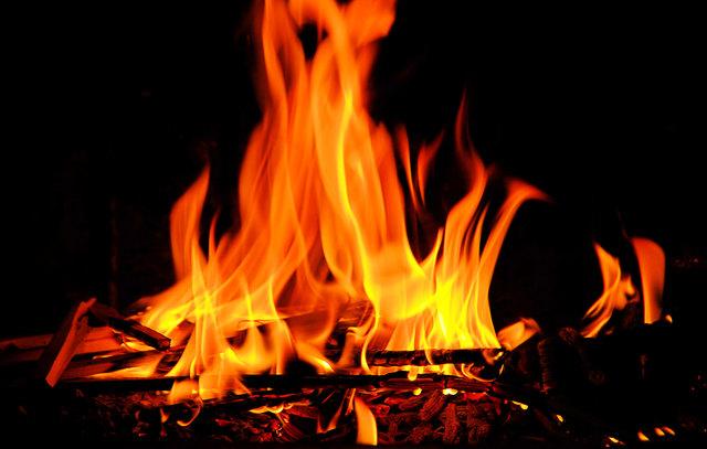 Durch das Feuer entstand an der Küche ein Totalschaden.