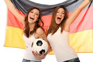 Fußballfans aus Deutschland