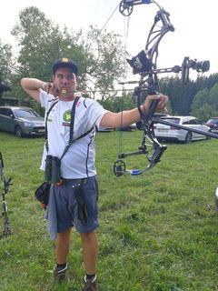 Nico Wiener zeigte wieder seine Klasse mit dem Bogen.
