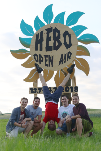 Die Mitglieder des Vereins HB-Music rund um Obmann Paul Oberndorfer veranstalten am 13. und 14. Juli das Hebo Open Air.
