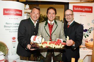 Markus Sattel, Christian Leeb (SalzburgMilch) und Christoph Paulweber.
