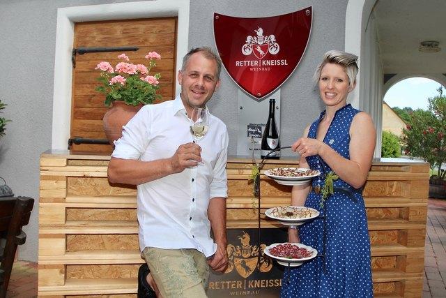 Christina und Wolfgang Kneissl lassen auch 2018 das Wollschwein in Löffelbach wieder richtig rocken.