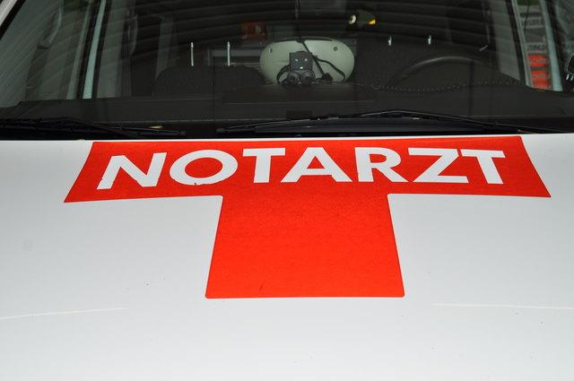 Der Verletzte wurde nach der Erstversorgung durch den Notarzt in das Klinikum Klagenfurt gebracht