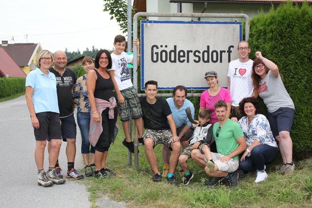 Die Mitglieder der Dorfgemeinschaft sammeln fleißig Stimmen für Gödersdorf