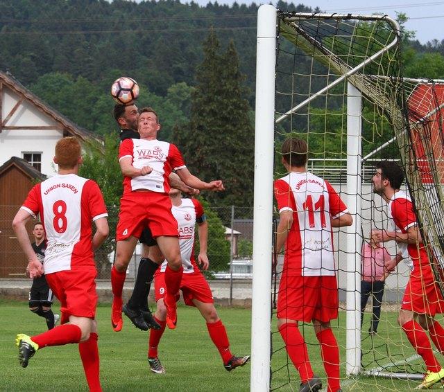 Union Saxen spielt nach dem Abstieg wieder in der 1. Klasse Nordost.