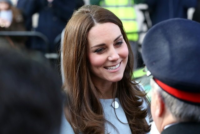 Kate Middleton muss ein Namensschild tragen