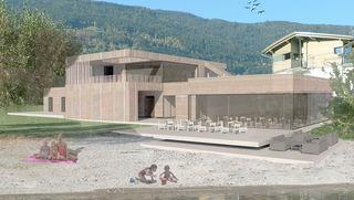 So soll nach neuen Plänen das Strandbad aussehen. Das Projekt wird bei der nächsten Gemeinderats-Sitzung vorgelegt
