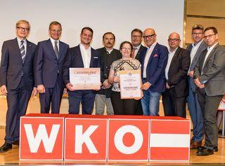 Elisabeth Doppelbauer-Friedl wurde als Unternehmer-Jubilarin ausgezeichnet.