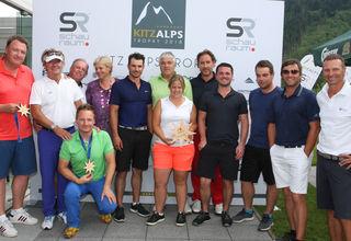 Die Team-Sieger vom Golfclub Mittersill