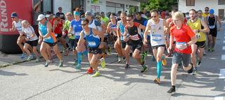 Der Steinbacher Dorflauf ist die zweite Station auf Willi's Runningtour 2018, präsentiert von der BezirksRundschau.