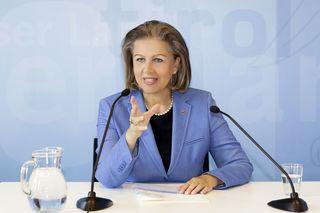 Wirtschaftslandesrätin Zoller-Frischauf begrüßt die Pläne einer Digitalsteuer für Großkonzerne.