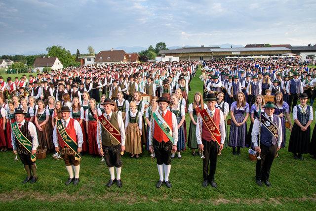 Bezirksmusikfest Ried im Traunkreis