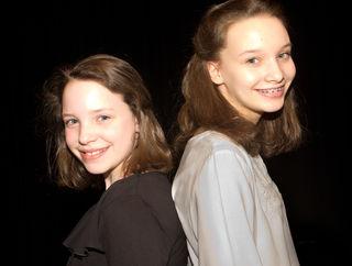 Die jungen Musikerinnen Johanna und Maria Hetzenauer.