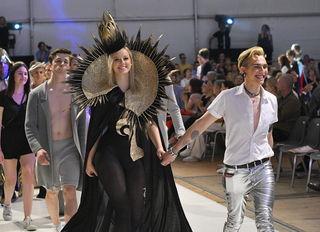 """""""Perspektiven"""" Show 2018, Jahresabschluss Modeschule Hetzendorf"""