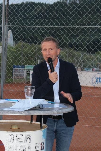 Kärntner Fußballpräsident Mag. Klaus Mitterdorfer