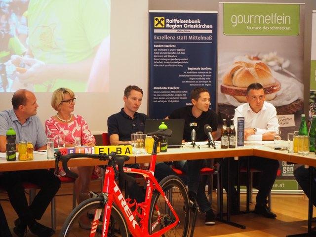 Bei der Pressekonferenz informierte der Veranstalterverein, RC Grieskirchen, auf was man bei dem Riesenevent setzt.