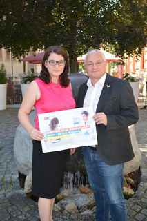 Melanie Erasim und Thomas Woisetschläger