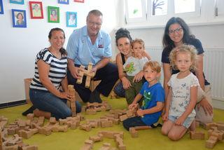 Große Nachfrage: Viele Eltern nutzen die Sommerkindergärten, wie jene in Fürstenfeld, um ihre Kinder in den Ferien gut betreut zu wissen.