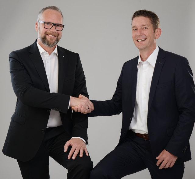 Dir. Roger Klimek MBA und Mathias Haselwanter EFA