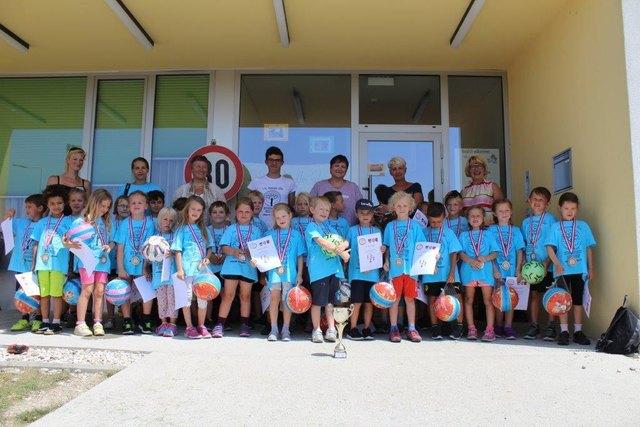 Die erfolgreichen Kids des Kindergarten Parz erzielten den 3. Platz in der Disziplin Fußball! Dazu herzliche Gratulation!