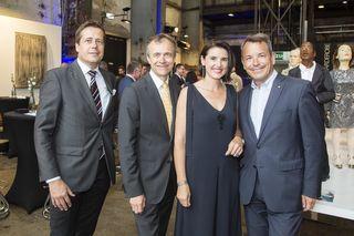 Günter Gorbach, Claus Spruzina, Angelika Moser und Markus Sattel.