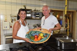 Im Gasthof von Dagmar und Edwin Vollmann spielen Zutaten aus der unmittelbaren Umgebung eine große Rolle.