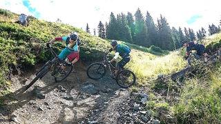 """Der Fleckalm Trail in Kirchberg ist der längste unter den fünf Tiroler """"Great Trails""""."""