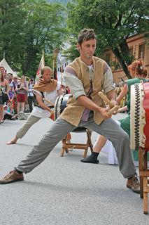 Mittelalterfest in Mauterndorf.