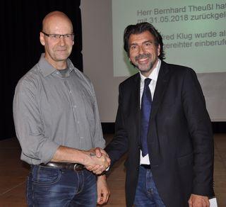 Als neuer Gemeinderat wurde Alfred Klug (FPÖ) von Bgm. Josef Wallner angelobt