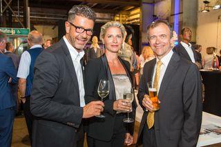 Michael Kretz, Stephanie Ranft und Claus Spruzina.