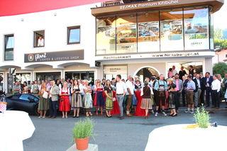Eine große Gästeschar feierte in Kitzbühel die Eröffnung des neuen RE/MAX Premium-Standorts.