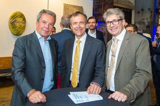 Johannes Pira, Claus Spruzina und Wolfgang Kleibel.